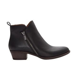 Lucky Brand Bryton Black Ankle Booties New Size 8